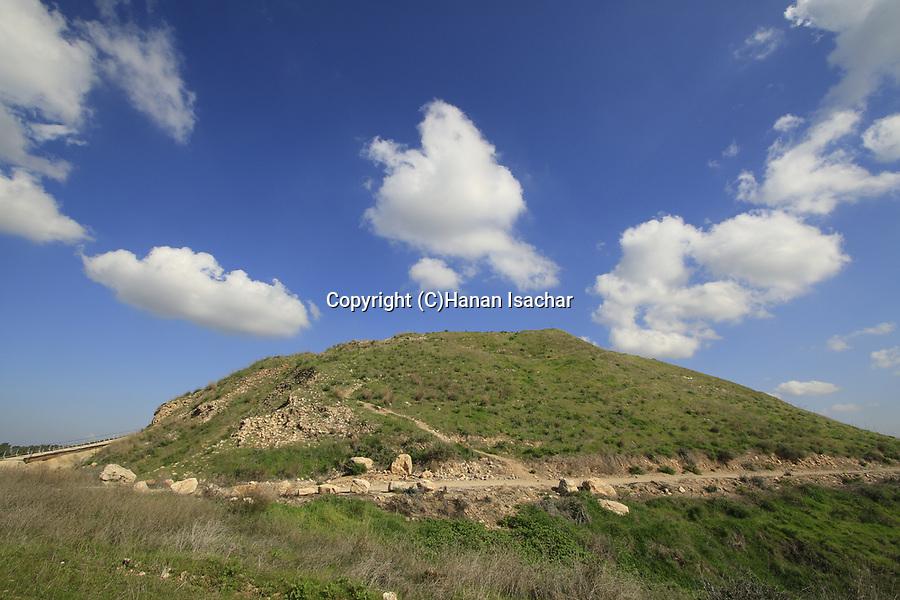 Tel Lachish in the Shephelah
