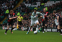 Georgios Samaras in the Celtic v St Mirren Clydesdale Bank Scottish Premier League match played at Celtic Park, Glasgow on 15.12.12.