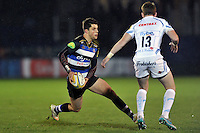 Adam Hastings of Bath United in possession. Aviva A-League match, between Bath United and Exeter Braves on November 30, 2015 at the Recreation Ground in Bath, England. Photo by: Patrick Khachfe / Onside Images