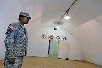 - Camp Ederle US Army base, inside of a bunker used as refectory in Longare detachment (former Site Pluto)....- base US Army di caserma Ederle, interno di un bunker usato come mensa nel distaccamento di Longare (ex Site Pluto)