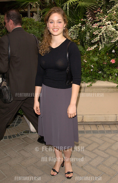 Actress ERIKA CHRISTENSEN at Premiere Magazine's Women in Hollywood luncheon at the Four Seasons Hotel, Beverly Hills..22OCT2001.  © Paul Smith/Featureflash