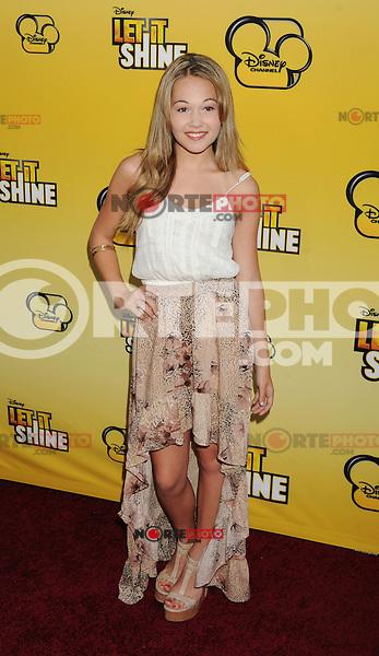 LOS ANGELES, CA - JUNE 05: Kelli Berglund attends Disney's 'Let It Shine' Premiere held at The Directors Guild Of America on June 5, 2012 in Los Angeles, California.