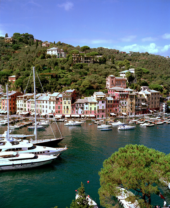 Harbor of Portofino, Liguria, ITALY