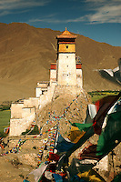 From the seventh through the ninth centuries, fierce tribal conflicts and warring kings from the Yarlung Valley, initiated a period of over 250 years of constant military engagement. The Yumbulagang fortress is said to have been the home of several Yarlung Valley kings..