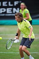 19-06-13, Netherlands, Rosmalen,  Autotron, Tennis, Topshelf Open 2013, , Angelique van der Meet and Demi Schuurs in he double<br /> Photo: Henk Koster