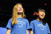 The Harker School - MS - Middle School - PA - Spring Sing, held in the Blackford Theatre - Photo by Kyle Cavallaro