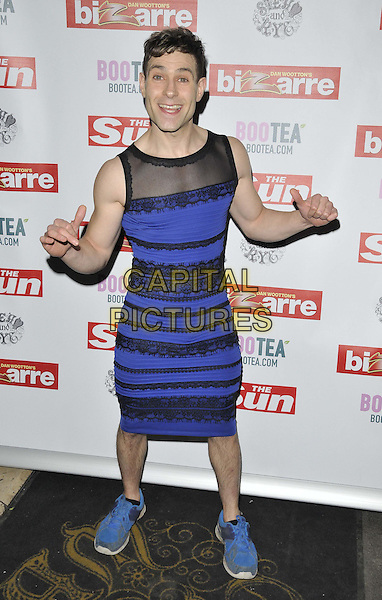 LONDON, ENGLAND - MARCH 02: Simon Brodkin attends the Sun's Bizarre column 1st annual party, Steam &amp; Rye bar &amp; restaurant, Leadenhall St., on Monday March 02, 2015 in London, England, UK. <br /> CAP/CAN<br /> &copy;CAN/Capital Pictures