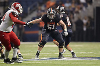 SAN ANTONIO, TX - SEPTEMBER 24, 2011: The Bacone College Warriors vs. The University of Texas at San Antonio Roadrunners Football at the Alamodome. (Photo by Jeff Huehn)
