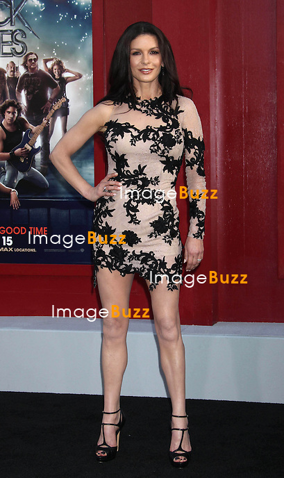 """Catherine Zeta-Jones at the premiere of """"Rock of Ages""""in Hollywood..Los Angeles, June 8, 2012.."""