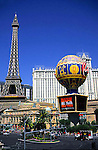 Located on the Las Vegas Strip, this hotel and casino features a rooftop pool, indoor mall and replicas of several Paris attractions including the Eiffel Tower.