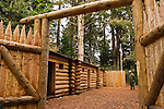Fort Clatsop National Memorial: Lewis & Clark Expedition winter quarters near Astoria, Oregon, part of Lewis and Clark National Historic Park.