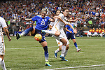 The US National Women's Soccer Team plays host to China in the Mercedes-Benz Superdome in the last game of their Victory Tour.  The match also marked the final game Abby Wambach.  China went on to down the US team, 1-0. Editorial Only.