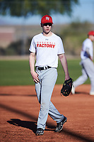 Joshua Eggleston (51), from Clarkson, Washington, while playing for the Nationals during the Under Armour Baseball Factory Recruiting Classic at Red Mountain Baseball Complex on December 28, 2017 in Mesa, Arizona. (Zachary Lucy/Four Seam Images)
