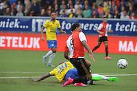 VOETBAL: LEEUWARDEN: 16-08-2015, SC Cambuur - Feyenoord, uitslag 0-2, Colin Kazim-Richards (#9), ©foto Martin de Jong