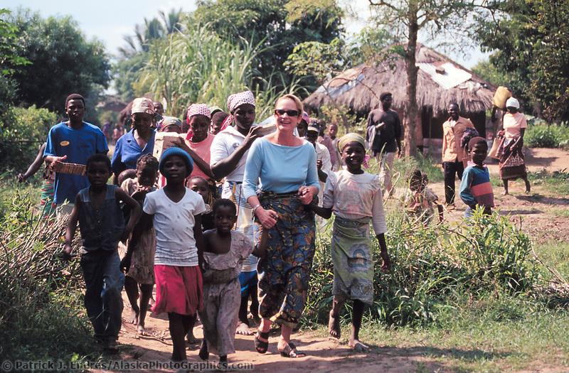 Marromeu village, Sofala province, Mozambique, AFRICA, May 200.