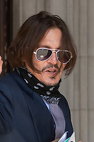 JUL 17 Depp trial at The Royal Courts of Justice, London