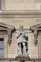 Francois de Malherbe, 1555 - 1628, French poet, critic and translator, Louvre Museum, Paris, France Picture by Manuel Cohen