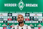 11.08.2019, wohninvest Weserstadion, Bremen, GER, Neuzugang Ömer / Oemer Toprak (Neuzugang Werder Bremen #21)<br /> <br /> im Bild<br /> <br /> Ömer / Oemer Toprak (Neuzugang Werder Bremen #21) <br /> <br /> Toprak wechselte von Dortmund nach Bremen<br /> <br /> Foto © nordphoto / Ewert