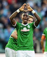 FUSSBALL   1. BUNDESLIGA   SAISON 2013/2014   7. SPIELTAG SV Werder Bremen - 1. FC Nuernberg                    29.09.2013 Eljero Elia (SV Werder Bremen) jubelt nach seinem Tor zum 3:2