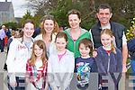 Enjoying a nice stroll at the Kerry Life Education walk in Killarney on Sunday was front row l-r: Grace Clarke, Aoife O'Brien, Darragh O'Brien, Leah Clarke. Back row: Hannah Clarke, Ann O'Hanlon, Fiona O'Brien and Brendan O'Brien..