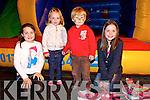 Mary Kate Moloney, Chloe Danaher, Oran O'Regan and Tara O'Regan from Duagh enjoying the Duagh Sports Complex Night at the Dogs Fundraiser at the Kingdom Greyhound Stadium on Saturday
