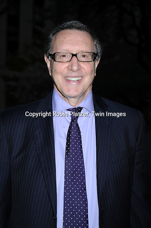 Norman Pearlstine arriving at The Vanity Fair Tribeca Film Festival Party on April 20, 2010 at The State Supreme Courthouse in New York City.