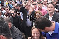PORTO ALEGRE, RS, 29.08.2018 - ELEIÇÕES-2018 - Jair Bolsonaro candidato do PSL à Presidência da Republica durante  evento da Revista Voto no hotel Sheraton em Porto Alegre  nesta quarta-Feira 29. (Foto: Naian Meneghetti/Brazil Photo Press)