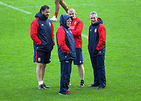 Lions coaching staff, from left, Andy Farrell, Warren Gatland, Graham Rowntree and Rob Howley during the 2017 DHL Lions Series rugby union British & Irish Lions captain's run at QBE Stadium in Albany New Zealand on Tuesday, 6 June 2017. Photo: Dave Lintott / lintottphoto.co.nz