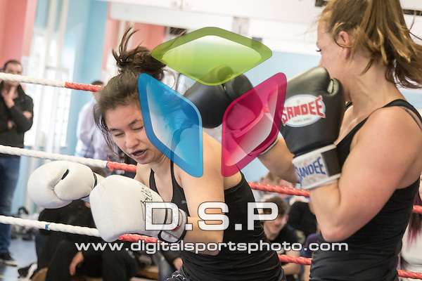 Singtocamram Muay Thai Gym Interclub 4. Photo by: Simon Downing<br /> Singtocamram Gym Interclub 4 - Sunday 20th March 2016. Singtocamram Gym, Salisbury, Wiltshire, United Kingdom.