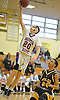 John O'Brien #20 of South Side drives to the net for two points during a non-league game against Central Islip in the Richard Brown Nassau-Suffolk Challenge at Uniondale High School on Saturday, Jan. 14, 2017. South Side won by a score of 67-61.