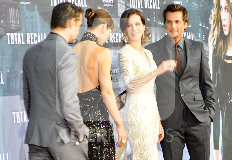 "Berlin, August 13, 2012:  Colin Farrell, Jessica Biel, Kate Beckinsale & Len Wiseman attend the ""Total Recall"" Premiere /NortePhoto.com....**CREDITO*OBLIGATORIO** *No*Venta*A*Terceros*..*No*Sale*So*third* ***No*Se*Permite*Hacer Archivo***No*Sale*So*third*"