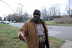 Marvin Reeves, 56, stands near the front of the house he bought for his daughter in the Greater Grand Crossing neighborhood in Chicago, Illinois on November 29, 2015.  Reeves purchased and renovated the house with money he received in settlement from the City of Chicago after a codefendant, Ronald Kitchen, and he were both tortured and Kitchen confessed to a crime both were innocent of; Reeves spent 21 years incarcerated from 1988-2009 for a South Side arson that killed two women and three children and had received five consecutive life sentences.