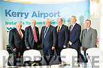 Pictured at the Kerry Airport AGM at the Earl of Desmond on Wednesday were: Michael Larkin, John O'Sullivan, Denis Cregan, Chairman, Peter Moore, Airport Manager, Denis Murphy and Basil Sheerin.