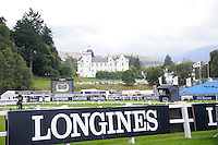 Blair Atholl, Scotland, UK. 11th September, 2015. Longines  FEI European Eventing Championships 2015, Blair Castle.  © Julie Priestley
