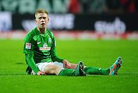 FUSSBALL   1. BUNDESLIGA    SAISON 2012/2013    17. Spieltag   SV Werder Bremen - 1. FC Nuernberg                     16.12.2012 Kevin De Bruyne (SV Werder Bremen) ist enttaeuscht