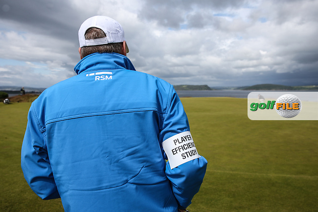 Player Efficiency survey sponsored by RSM  during the First Round of the 2016 Aberdeen Asset Management Scottish Open, played at Castle Stuart Golf Club, Inverness, Scotland. 07/07/2016. Picture: David Lloyd | Golffile.<br /> <br /> All photos usage must carry mandatory copyright credit (&copy; Golffile | David Lloyd)