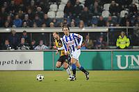 VOETBAL: SC HEERENVEEN: Abe Lenstra Stadion, 17-02-2012, SC-Heerenveen-NAC, Eredivisie, Eindstand 1-0, Geert Arend Roorda, ©foto: Martin de Jong.
