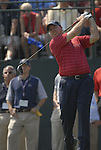 USA Team player Boo Weekley drives off on the 1st tee during the Singles on the Final Day of the Ryder Cup at Valhalla Golf Club, Louisville, Kentucky, USA, 21st September 2008 (Photo by Eoin Clarke/GOLFFILE)