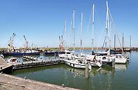 Nederland  Stavoren 2017. De haven van Stavoren.  Foto Berlinda van Dam / Hollandse Hoogte