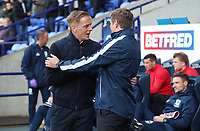 Bolton Wanderer's Manager Phil Parkinson and Middlesbrough's  Manger Garry Monk<br /> <br /> Photographer Rachel Holborn/CameraSport<br /> <br /> The EFL Sky Bet Championship - Bolton Wanderers v Middlesbrough - Saturday 9th September 2017 - Macron Stadium - Bolton<br /> <br /> World Copyright &copy; 2017 CameraSport. All rights reserved. 43 Linden Ave. Countesthorpe. Leicester. England. LE8 5PG - Tel: +44 (0) 116 277 4147 - admin@camerasport.com - www.camerasport.com