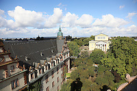 Residenzschloss und Hessisches Staatsarchiv