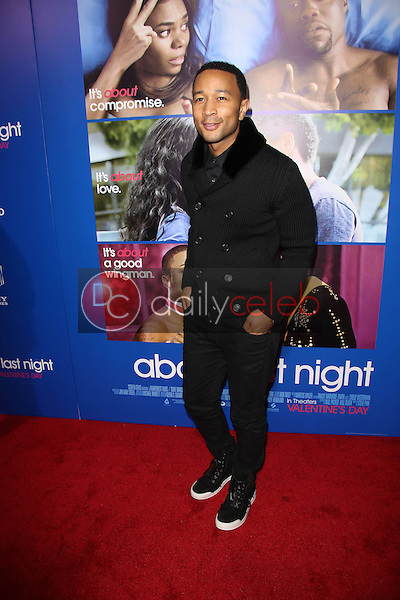 John Legend<br /> at the &quot;About Last Night&quot; Los Angeles Premiere, Arclight, Hollywood, CA 02-11-14<br /> David Edwards/Dailyceleb.com 818-249-4998