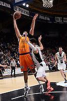 Dubljevic vs Vidal<br /> Liga Endesa ACB - 2014/15<br /> J14<br /> Valencia Basket vs Fiatc Joventut