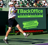 Andy RODDICK (USA) against Nicolas ALMAGRO (ESP) in the Quarter Finals of the men's singles. Andy Roddick beat Nicolas Almagro 6-3 6-3..International Tennis - 2010 ATP World Tour - Sony Ericsson Open - Crandon Park Tennis Center - Key Biscayne - Miami - Florida - USA - Wed 31st Mar 2010..© Frey - Amn Images, Level 1, Barry House, 20-22 Worple Road, London, SW19 4DH, UK .Tel - +44 20 8947 0100.Fax -+44 20 8947 0117