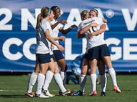 SAN DIEGO, CA - December 2, 2012: North Carolina Tar Heels vs Penn State Nittany Lions for the 2012 NCAA Women's College Cup at Torero Stadium University of San Diego in San Diego, California. Final score North Carolina 4, Penn State 1.