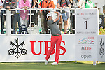 Peter Uihlein of USA tees off the first hole during the 58th UBS Hong Kong Golf Open as part of the European Tour on 10 December 2016, at the Hong Kong Golf Club, Fanling, Hong Kong, China. Photo by Marcio Rodrigo Machado / Power Sport Images