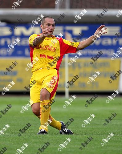 2007-08-15 / Voetbal / KFC Duffel / Kris Janssens