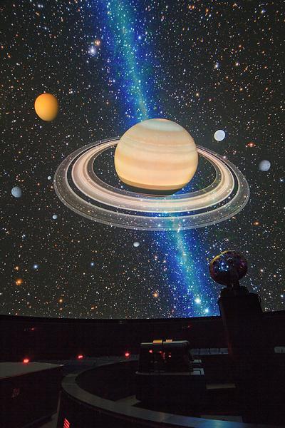 Saturn, Boulder, Boulder book, Fiske Planetarium, John Kieffer photographer, Saturn, University of Colorado