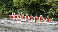 Henley Royal Regatta, Henley on Thames, Oxfordshire, 28 June - 2 July 2017.  Friday  10:02:07   30/06/2017  [Mandatory Credit/Intersport Images]<br /> <br /> Rowing, Henley Reach, Henley Royal Regatta.<br /> <br /> The Remenham Challenge Cup<br />  Calgary Rowing Club, Canada