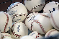 ML Baseballs. Photo by Andrew Woolley / Four Seam Images.